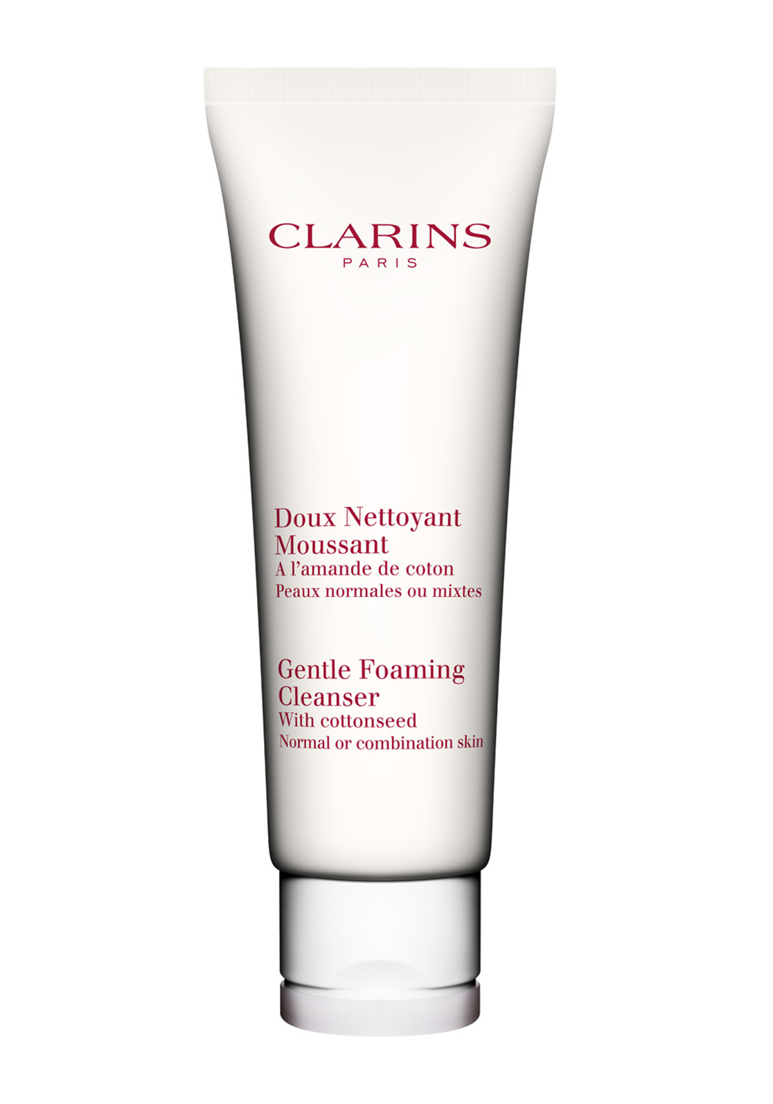 Clarins Gentle Foaming Cleanser with Cottonseed, 125ml