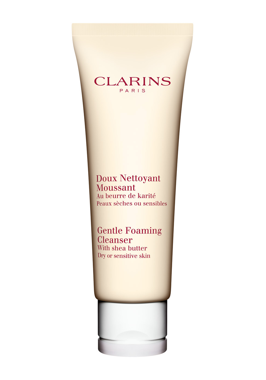Clarins Gentle Foaming Cleanser with Shea Butter, 125ml