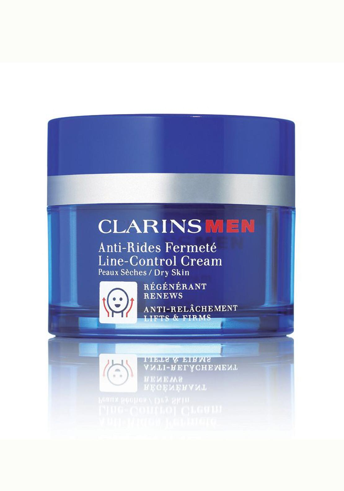Clarins Men Line-Control Cream (Dry Skin) 50ml