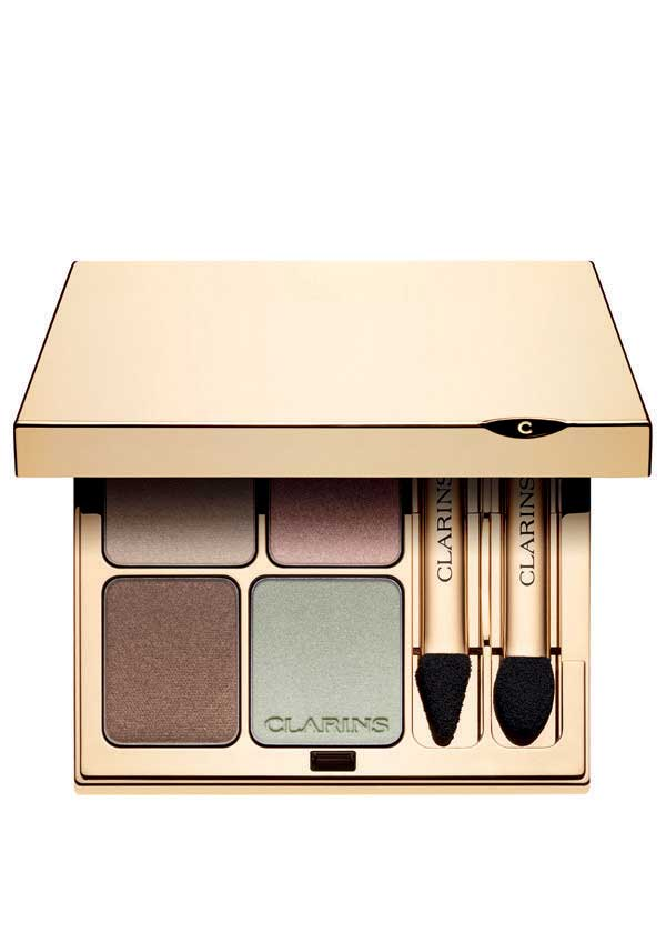 Clarins Eye Quartet Mineral Eye Shadow Palette, 01 Pastels