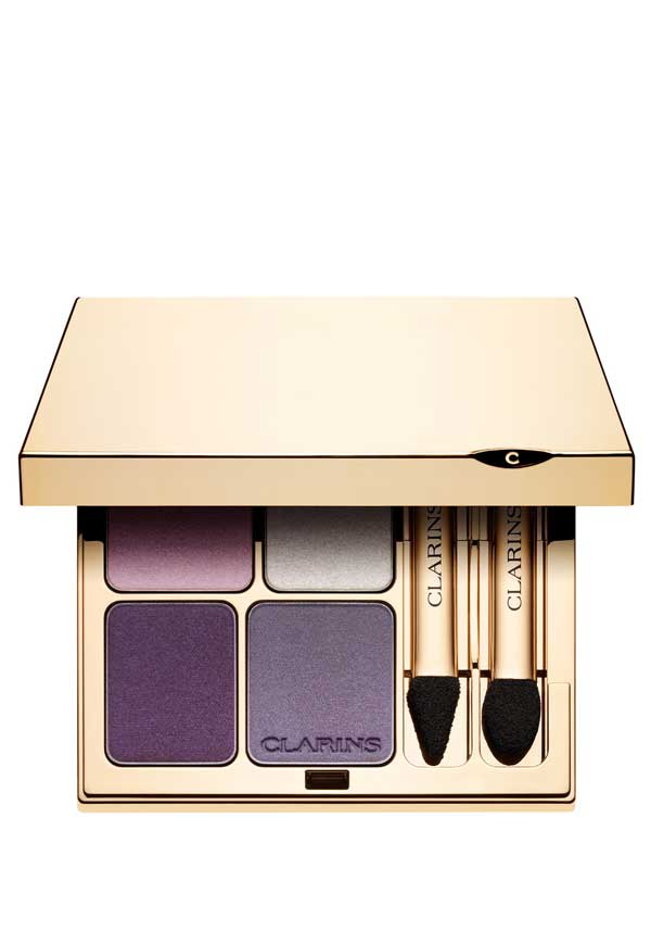 Clarins Eye Quartet Mineral Eye Shadow Palette, 05 Violet