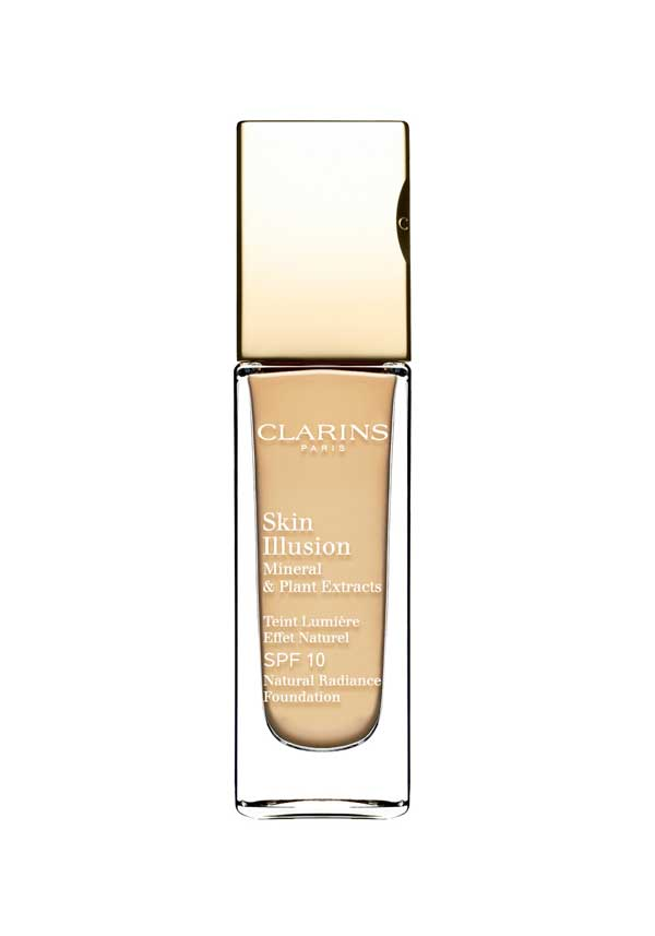 Clarins Skin Illusion Natural Radiance Foundation SPF 10, 107 Beige