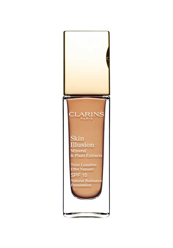 Clarins Skin Illusion Natural Radiance Foundation SPF 10, 112 Amber