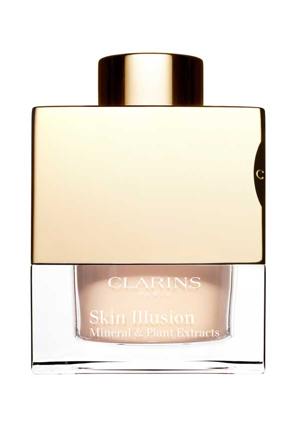 Clarins Skin Illusion Loose Powder Foundation 105 Nude, 13g