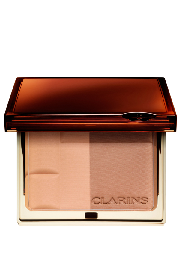 Clarins Bronzing Duo Mineral Powder Compact, 01 Light