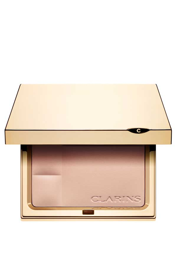 Clarins Ever Matte Shine Control Mineral Powder Compact 00 Transparent Opale, 10g