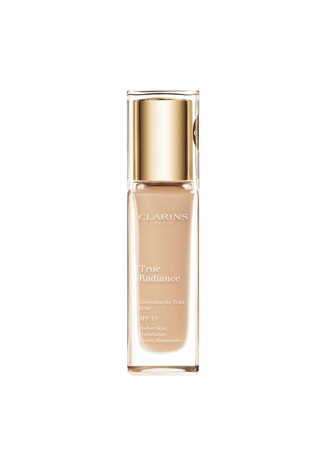 Clarins SPF15 True Radiance Foundation 105 Nude, 30ml