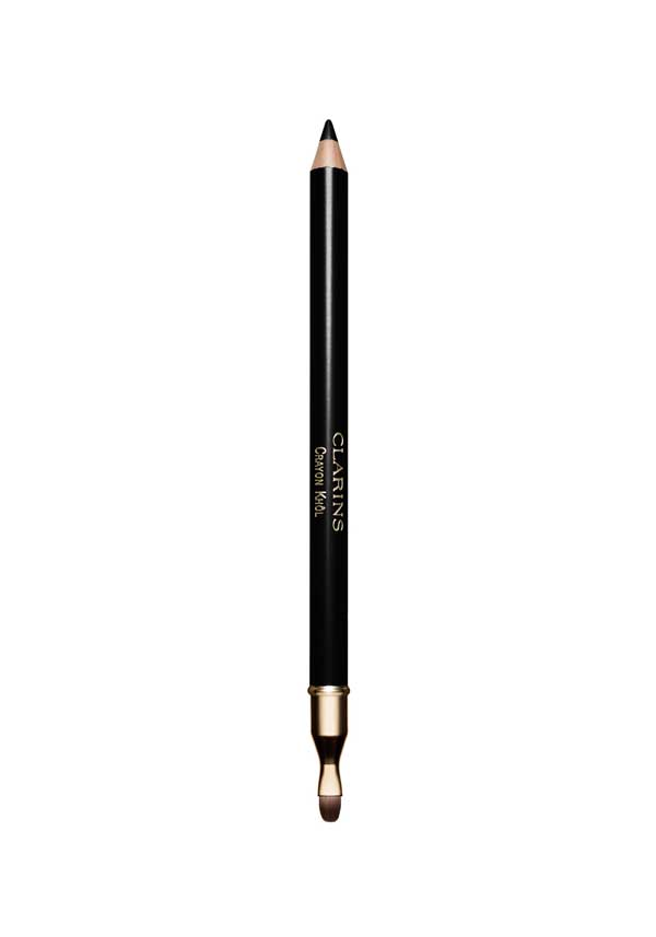 Clarins Crayon Khol Intense line pencil, 01 Extreme Black
