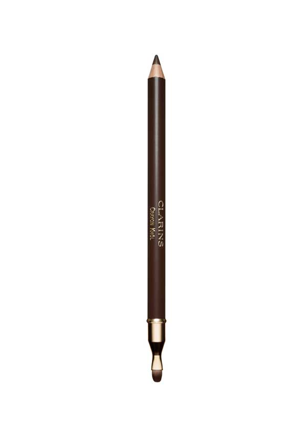 Clarins Crayon Khol Intense line pencil, 02 Intense Brown