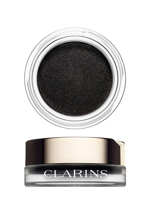 Clarins Ombre Matte Cream-to-Powder Matte Eyeshadow, 07 Carbon