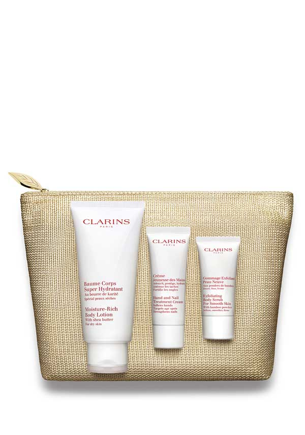 "Clarins ""Body Exfoliation & Hydration"" Gift Set"