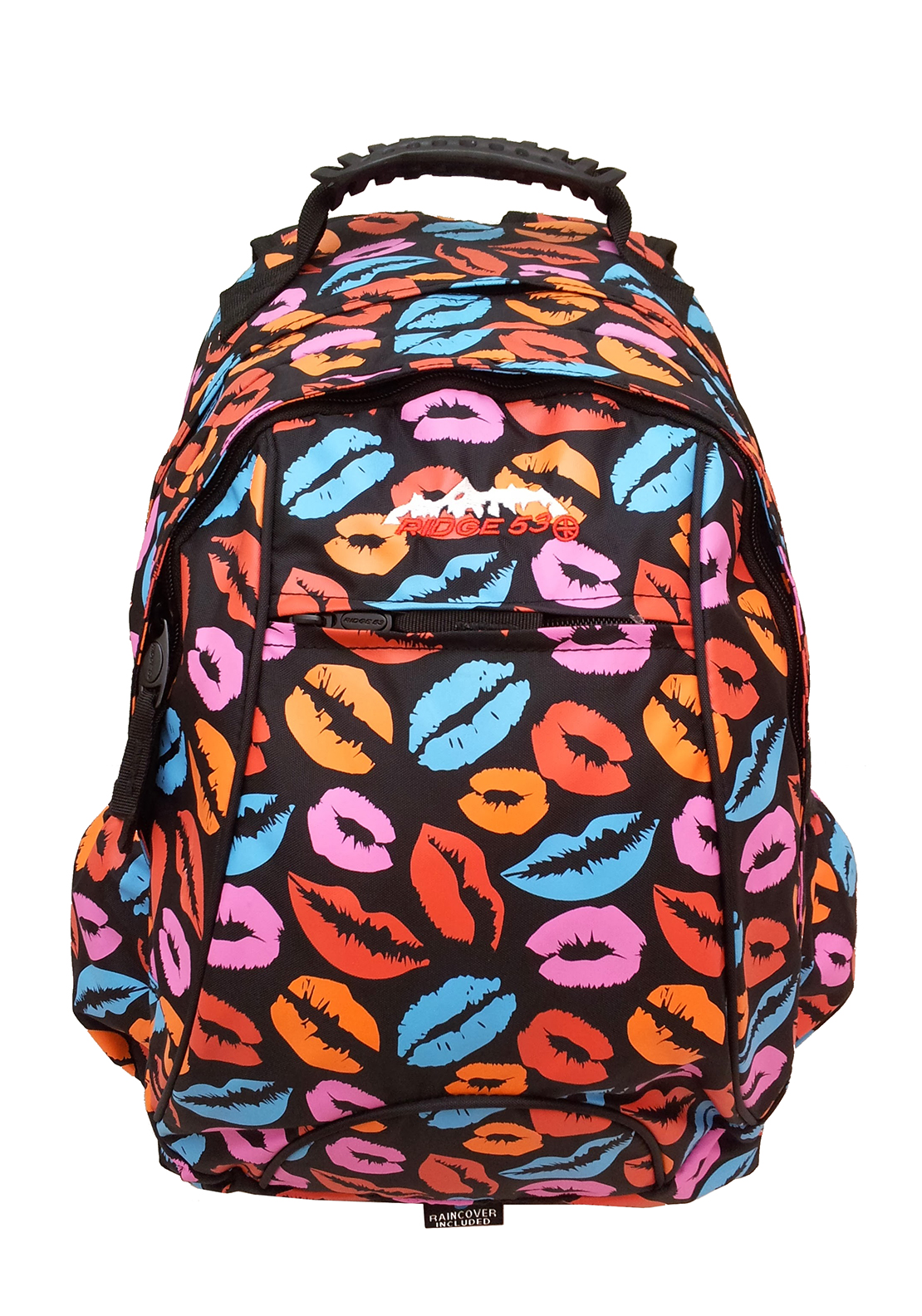 Ridge 53 Clancy Backpack School Bag, Multi-Coloured