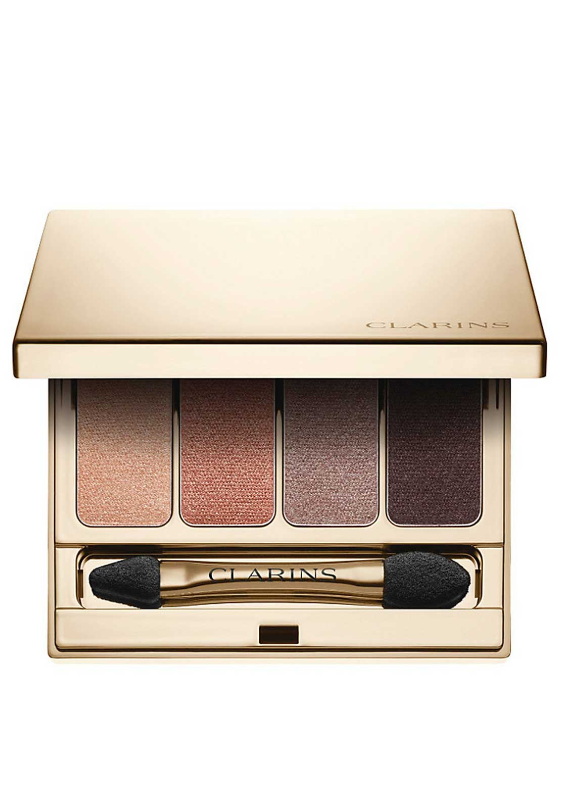 Clarins Wet & Dry Eyeshadow Palette 4 Colours, Nude 01