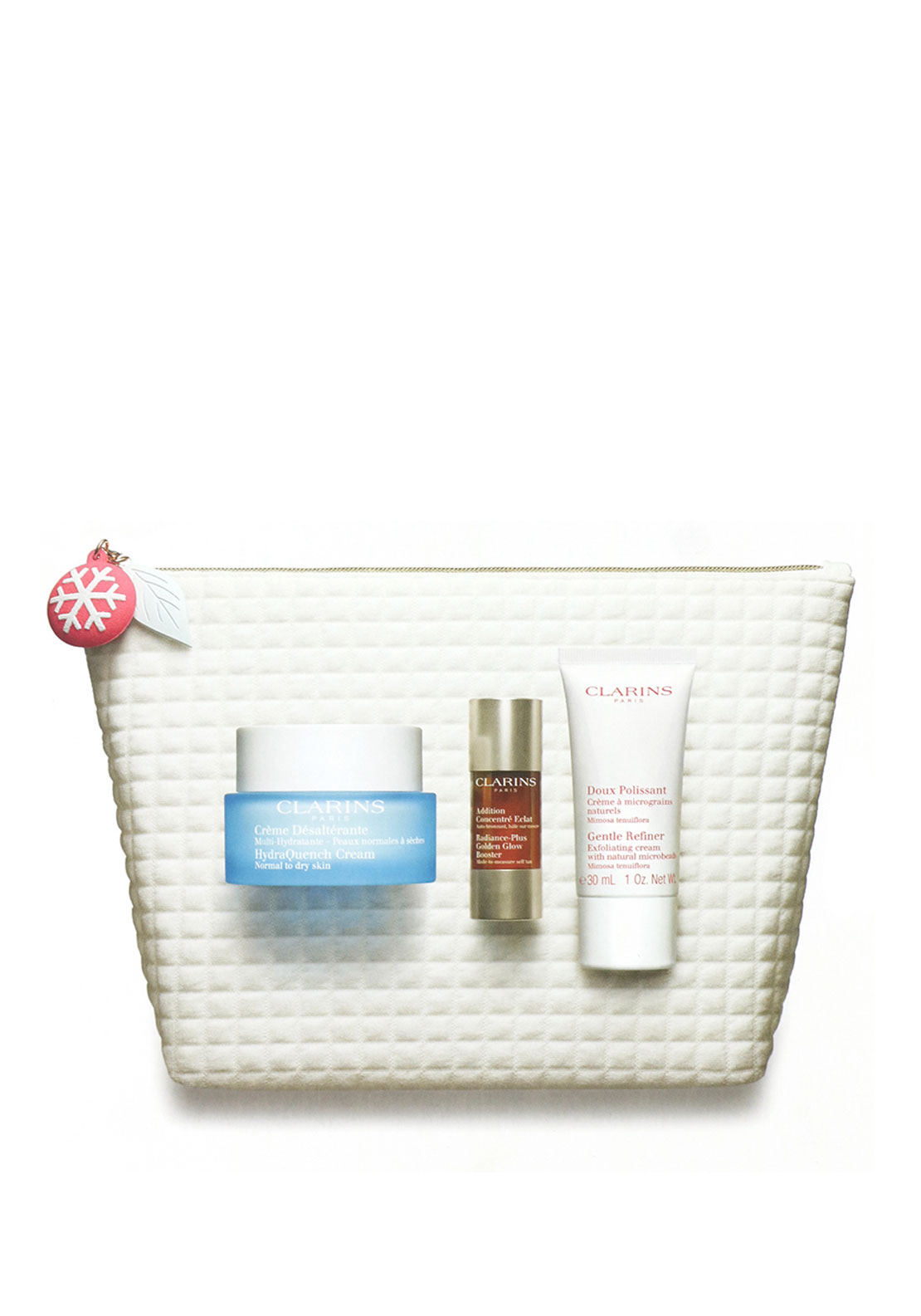 Clarins Christmas '3 drops to sun-kissed skin 'Gift Set