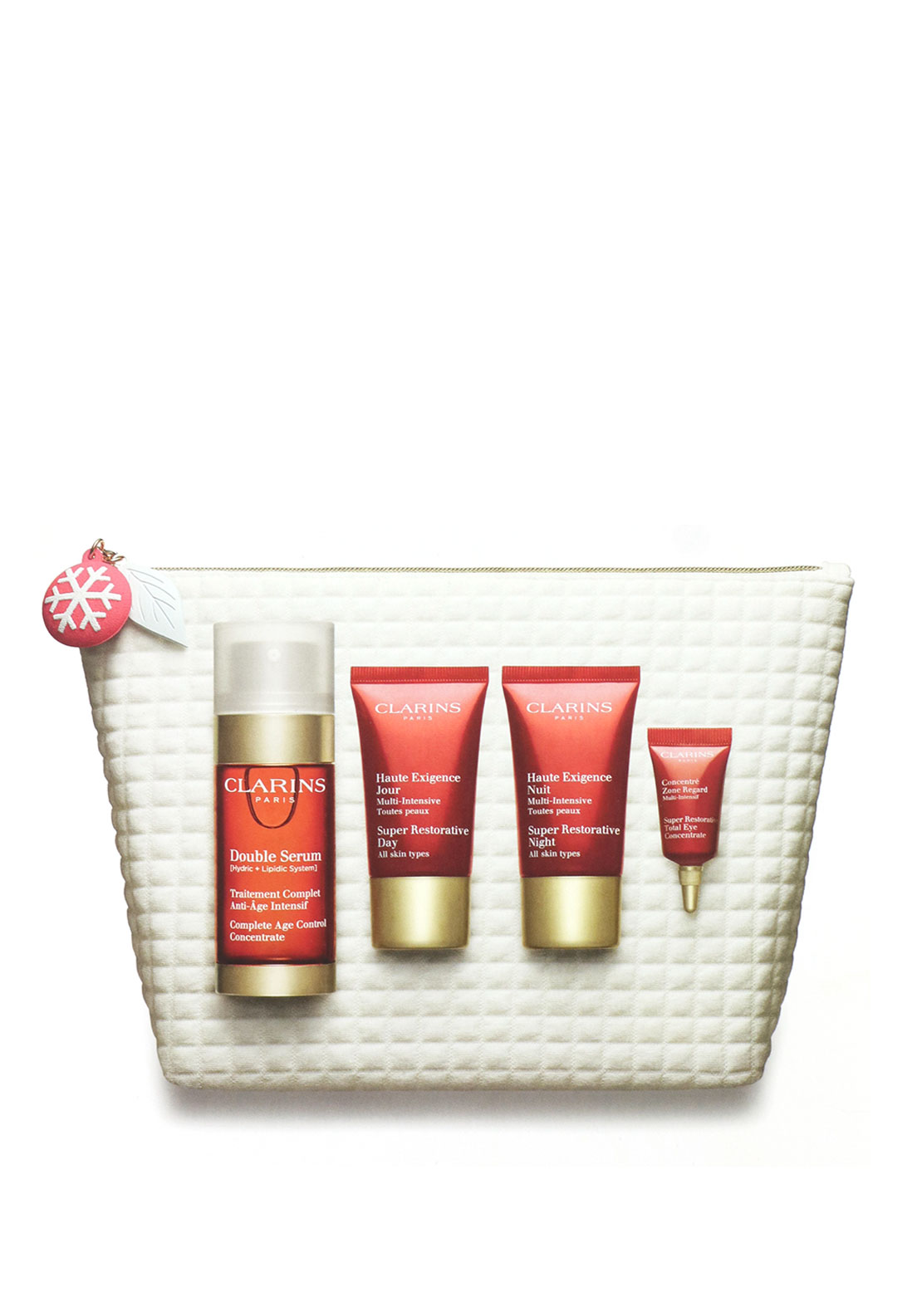 Clarins Christmas 'Replenishing, illuminating & densifying experts 'Gift  Set
