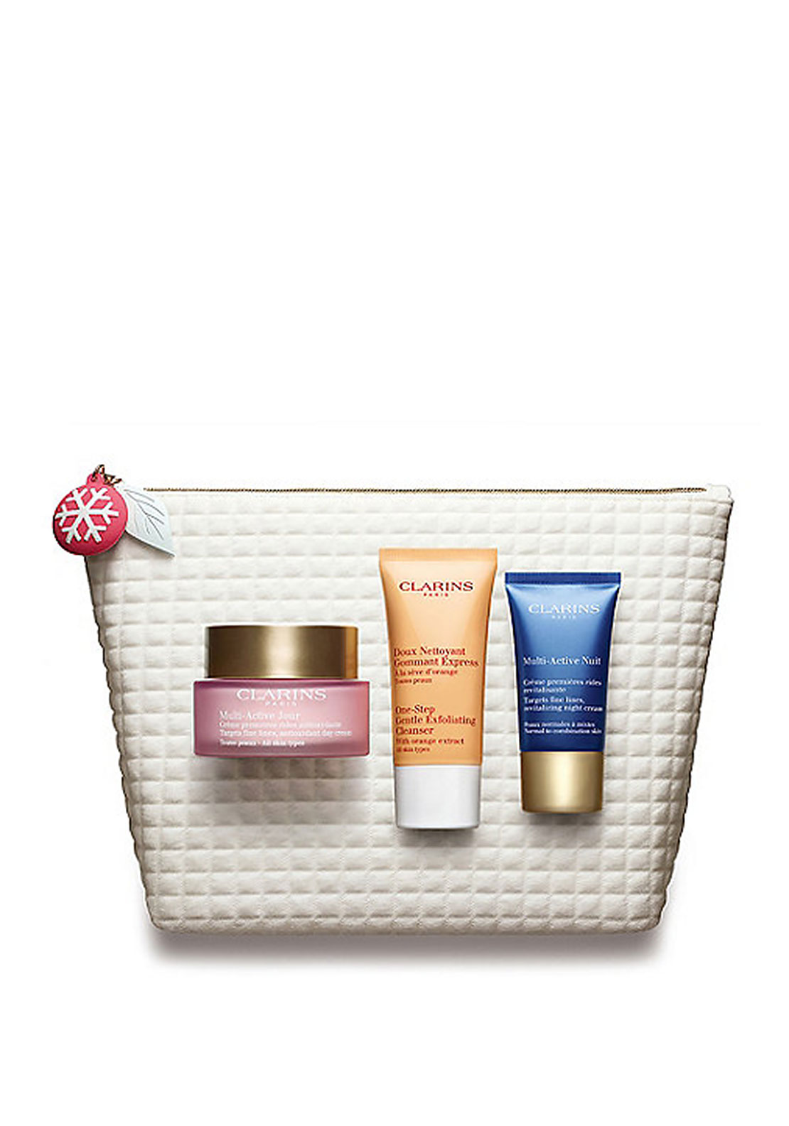 Clarins Christmas Smoothing Essentials Multi Active Collection Gift Set