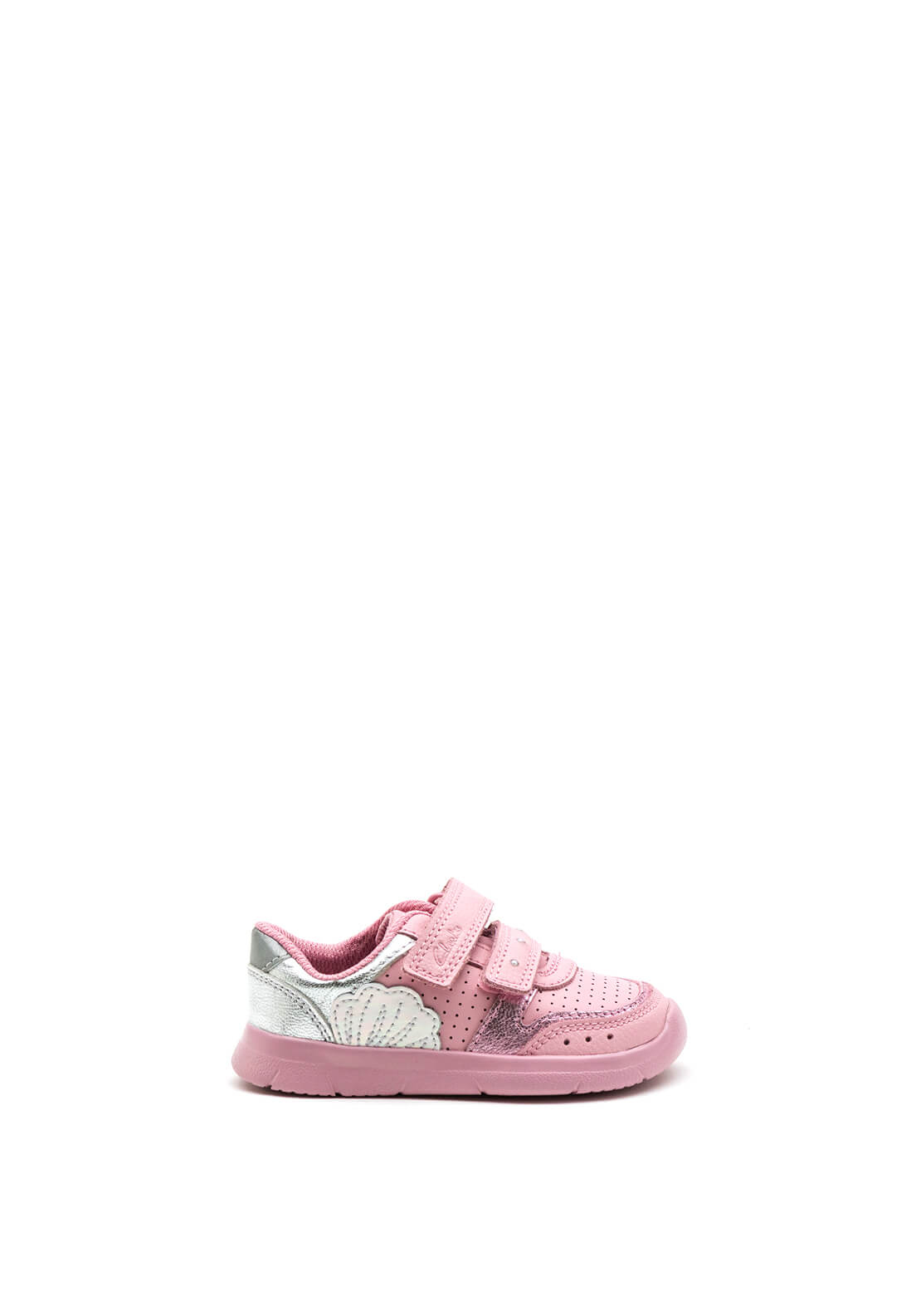 Clarks Baby Girls Ath Shell Trainers, Pink