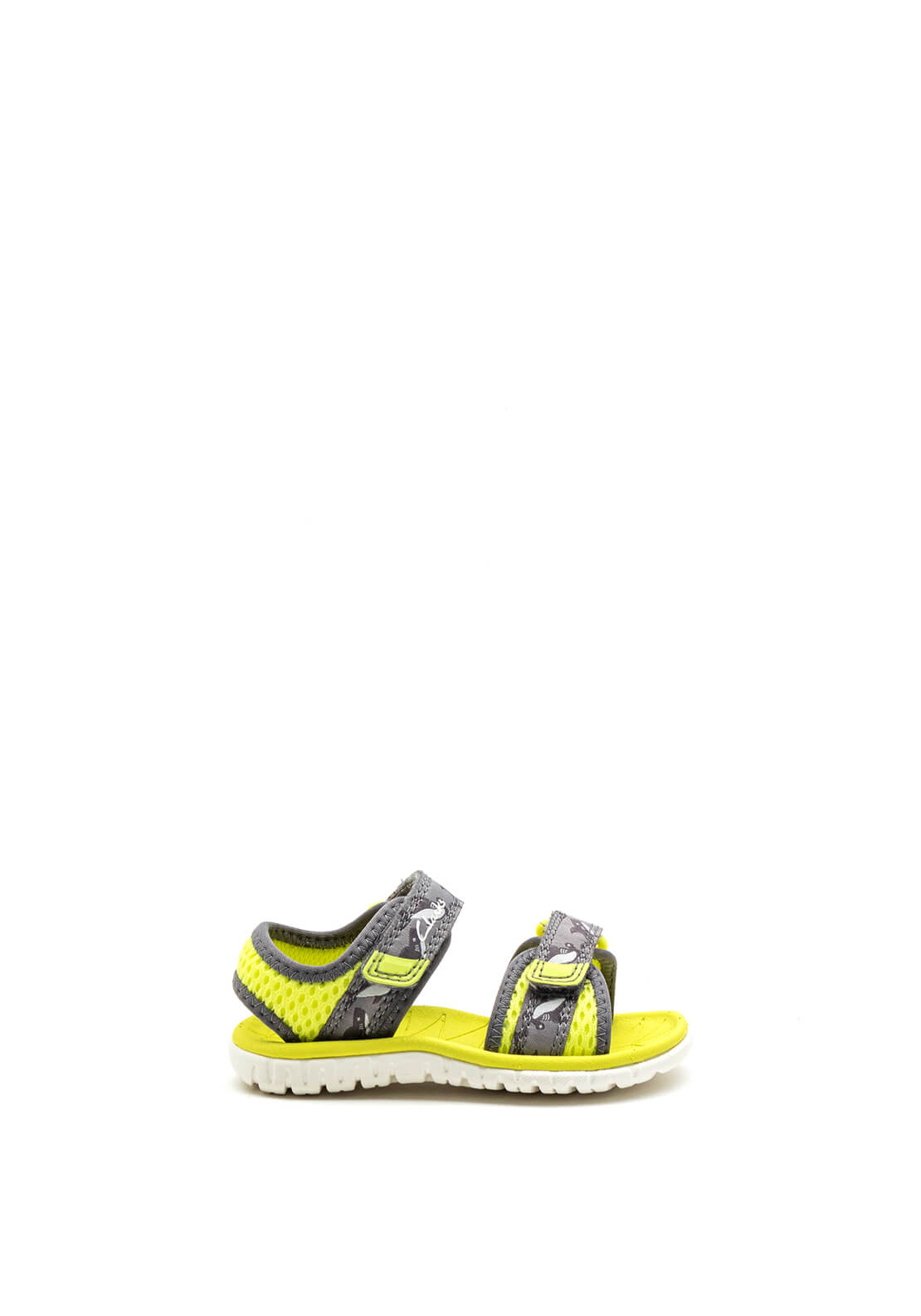 Clarks Baby Boys Surfing Tide Open Toe Sandals, Lime Green