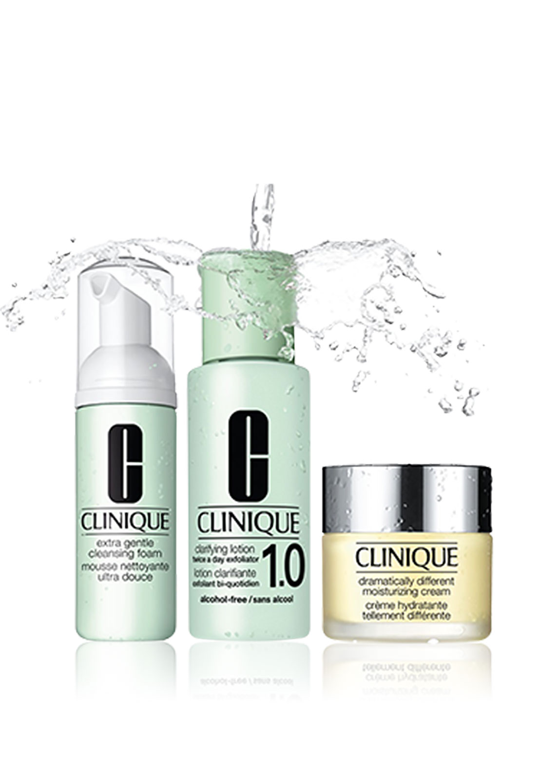 Clinique 3 Step System Gift Set, Skin Type 1 & 2