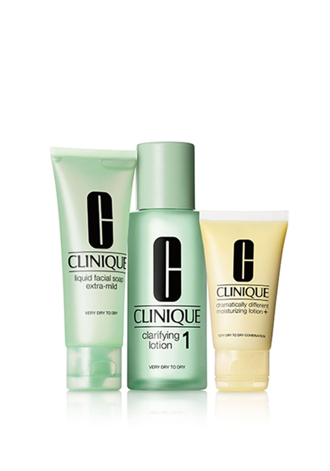 Clinique 3 Step System Gift Set, Skin Type 1