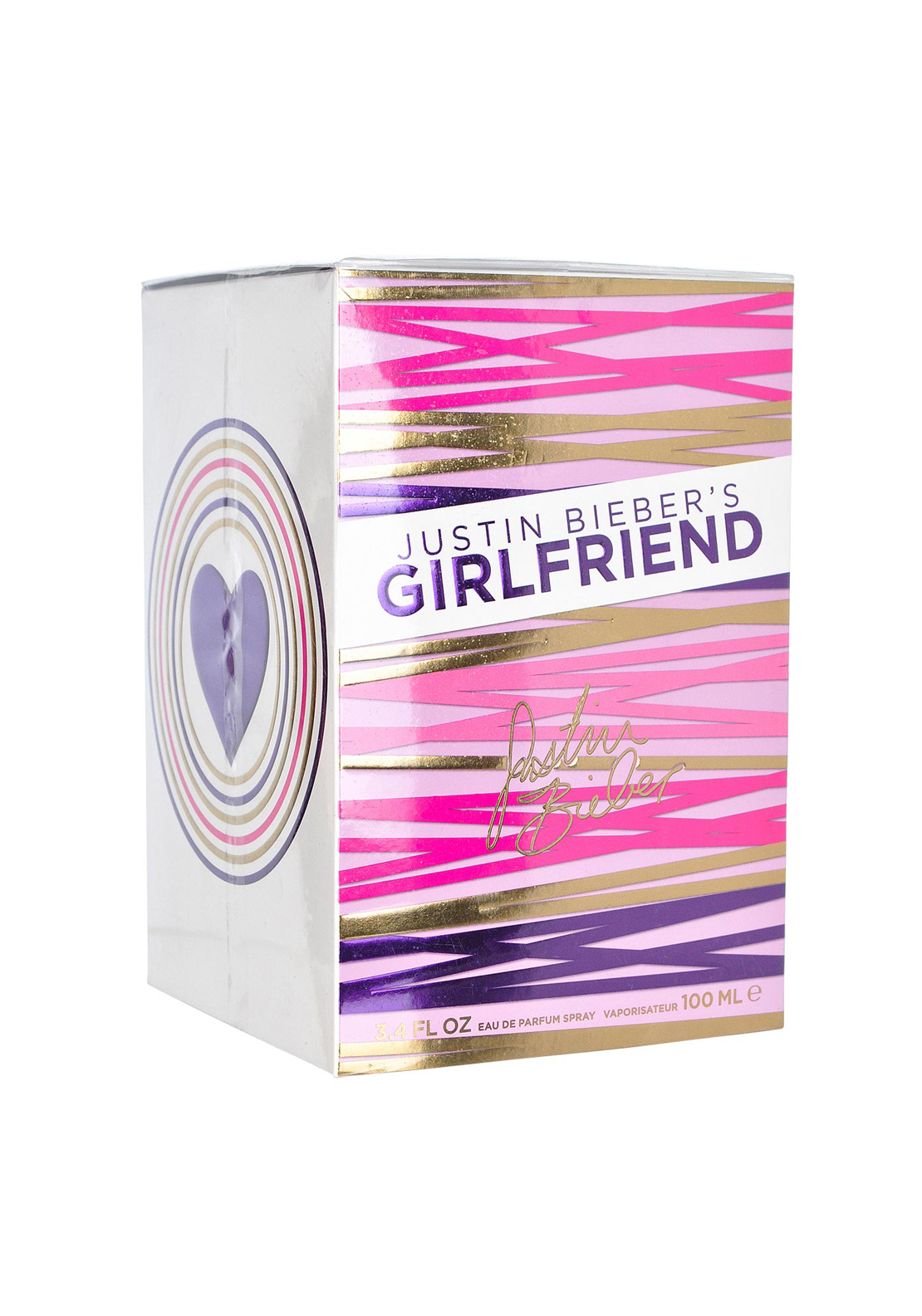 Justin Bieber's Girlfriend Eau De Parfum for Women, 100ml