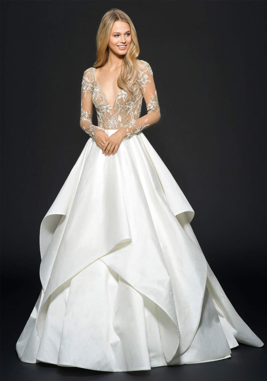 Hayley Paige Collins Wedding Dress (6650)