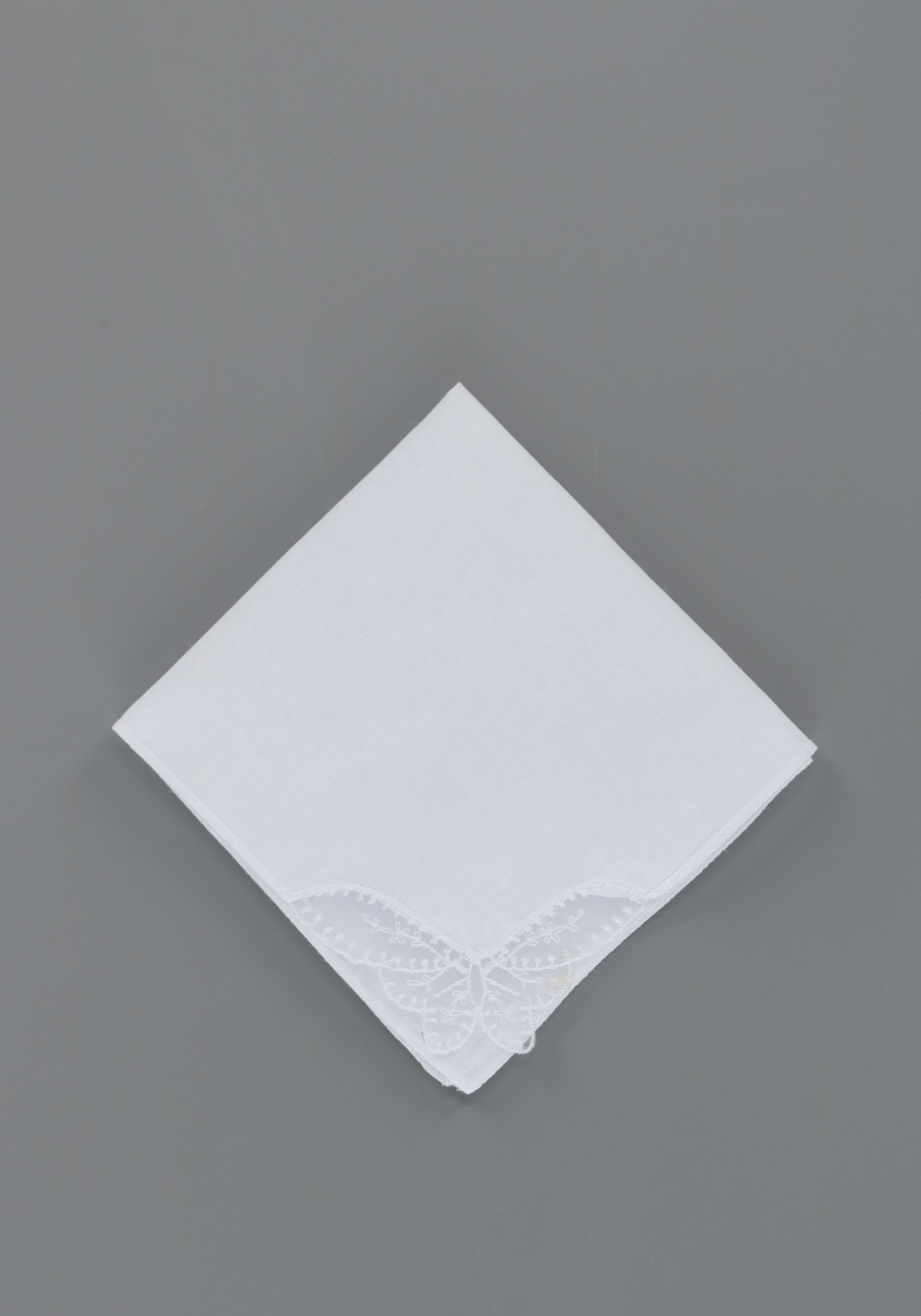 McElhinneys Square Communion Handkerchief, White