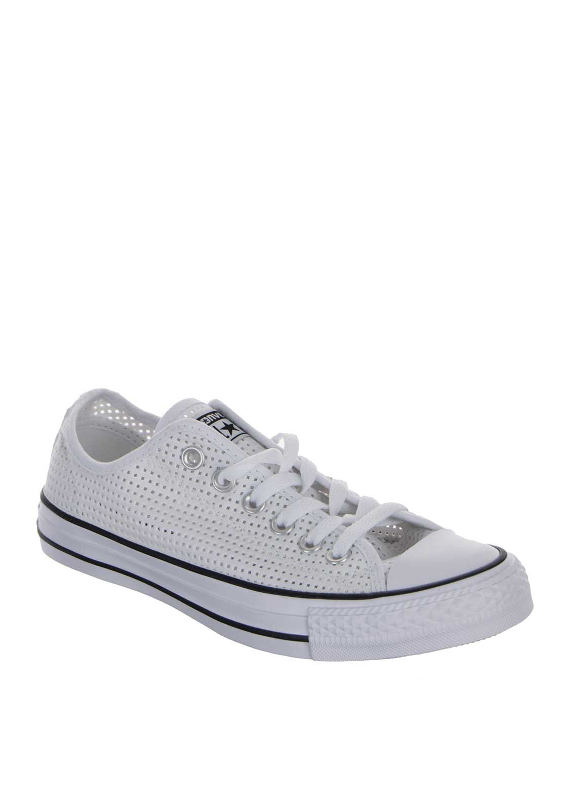 Converse Womens All Star Leather Trainers, White