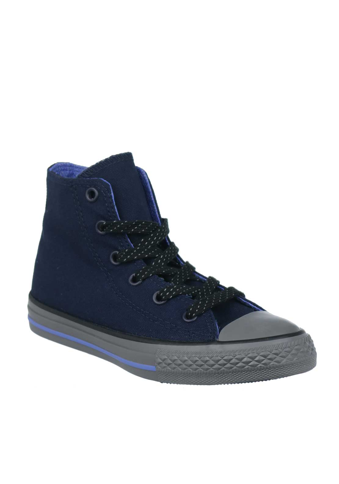 Converse Boys Hi Top Trainers, Navy