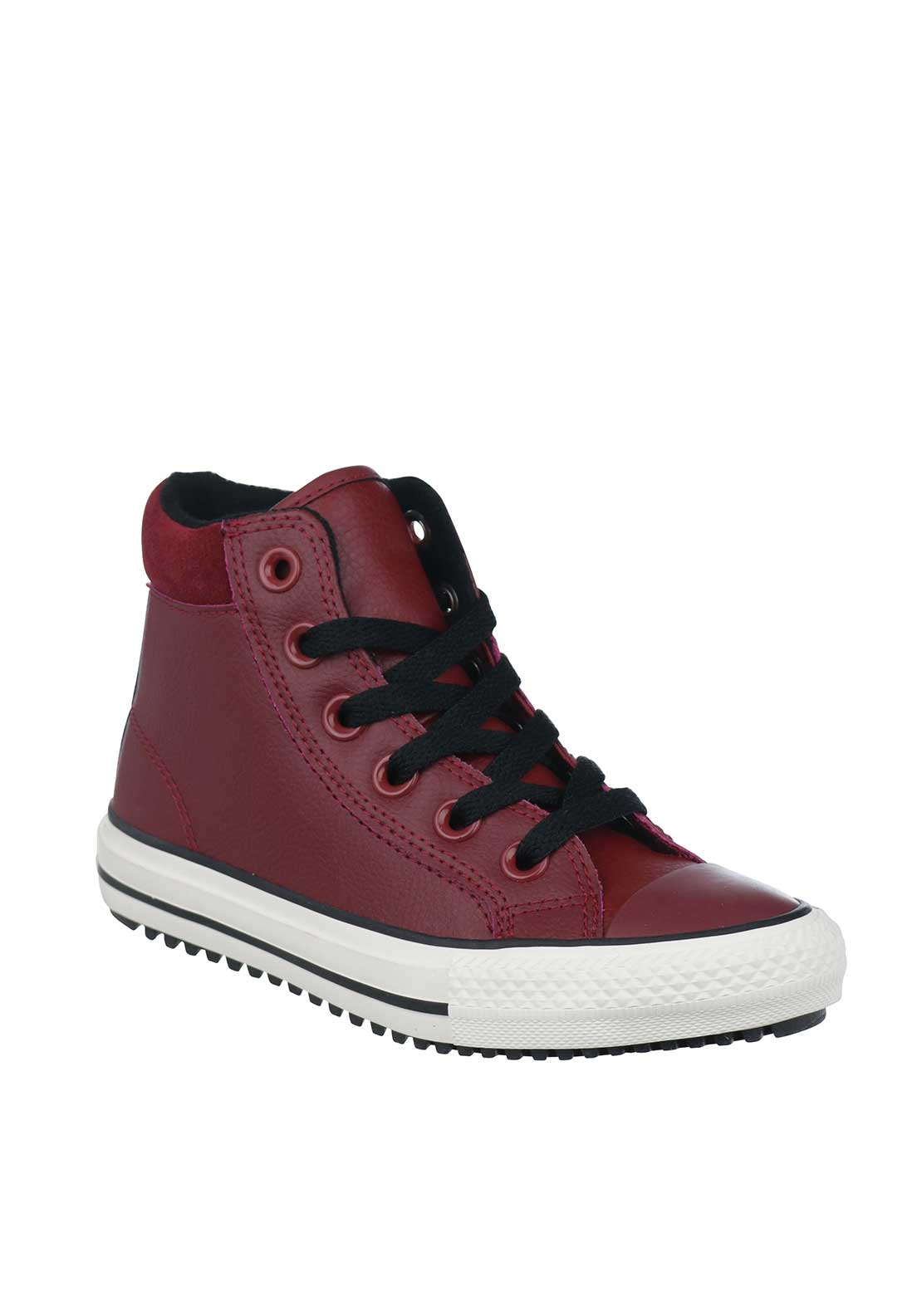 Converse Kids Chuck Taylor Hi Top Trainers, Wine
