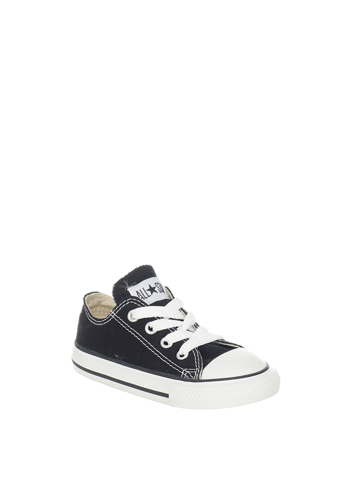 Converse Toddler All-Star Ox Low Trainers, Black