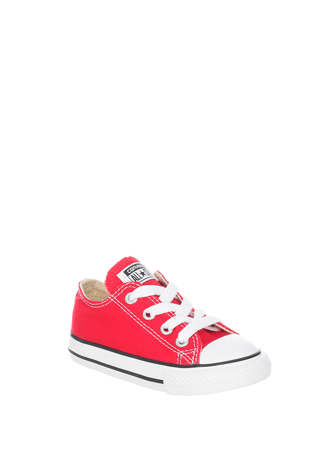Converse Toddler All-Star Ox Low Trainers, Red