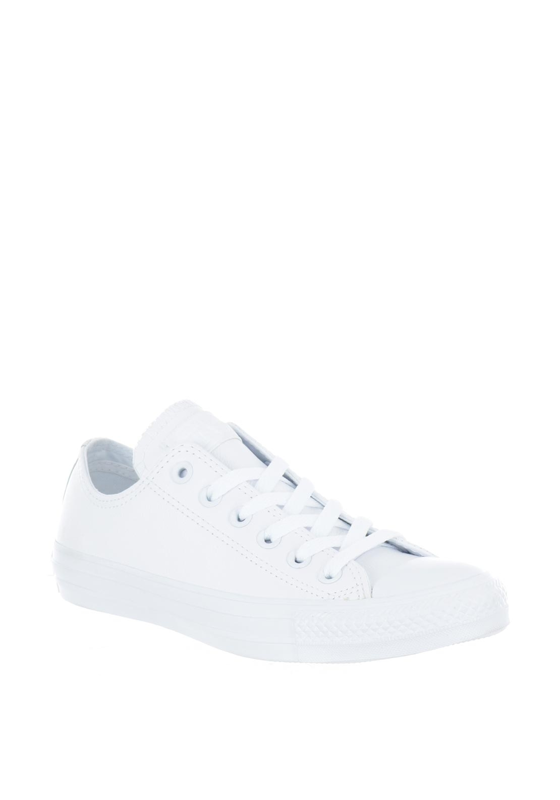 Converse Unisex All Star Leather Trainers, White
