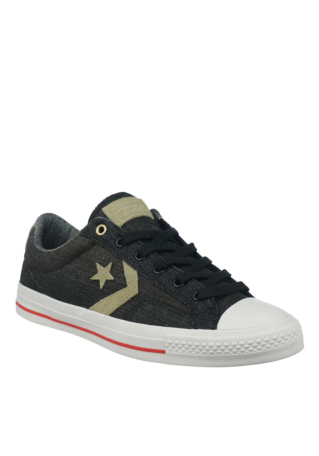 Converse Cons Mens Canvas Trainers, Black
