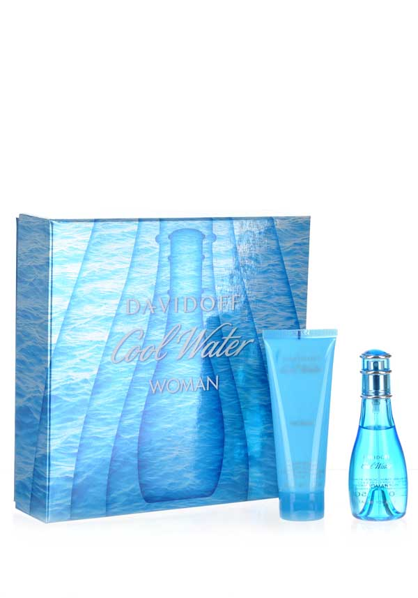 Davidoff Cool Water Woman Gift Set, 50ml