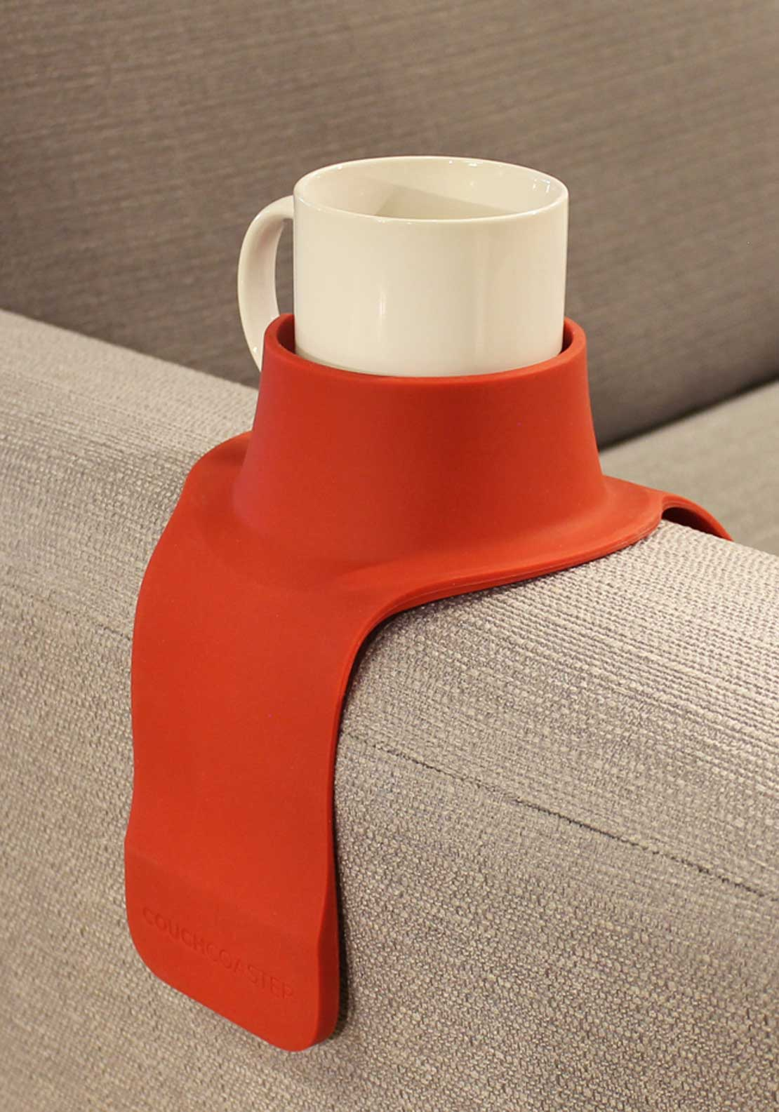 CouchCoaster Drink Holder, Rosso Red