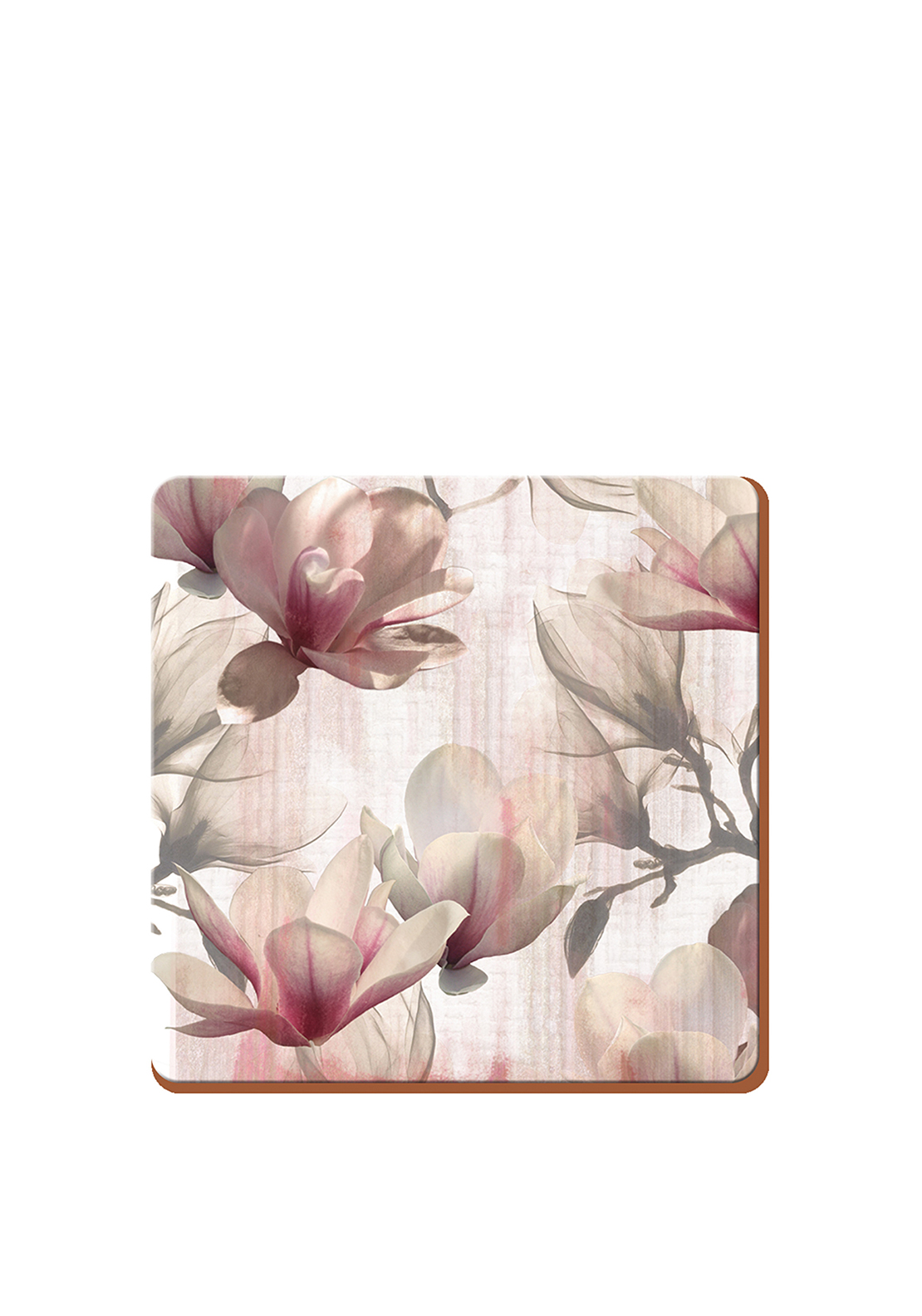 Creative Tops Metallic Floral Coasters 6 Pack