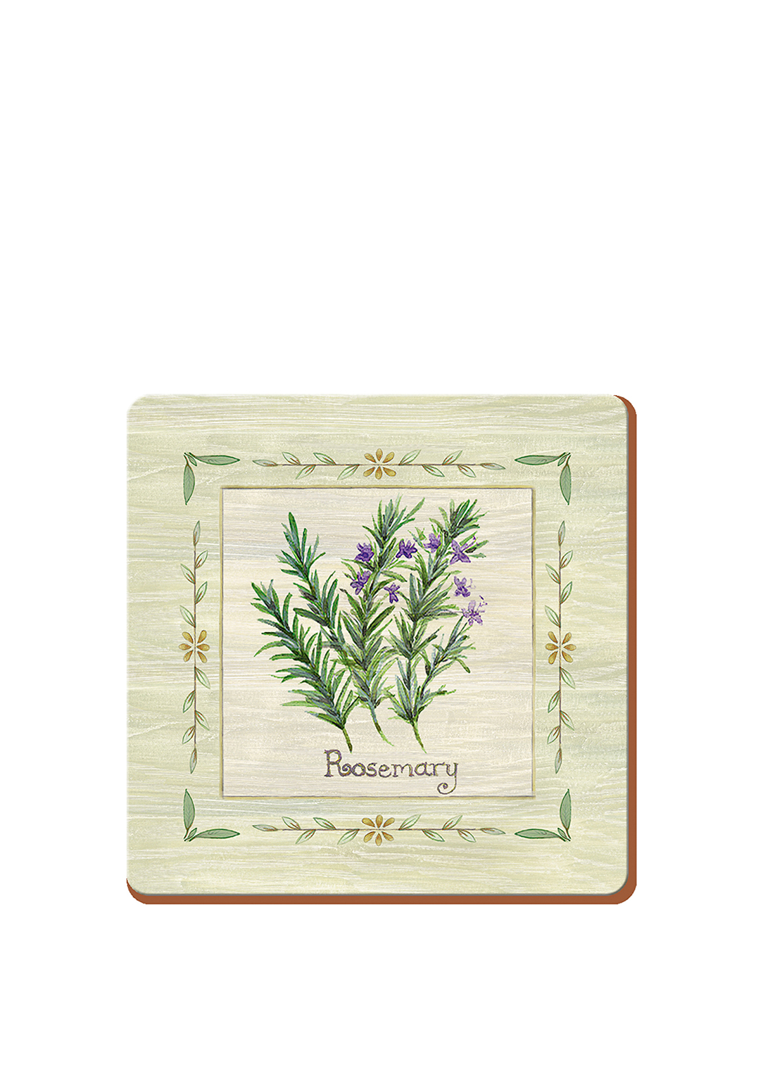 Creative Tops Fresh Herbs Coasters 6 Pack