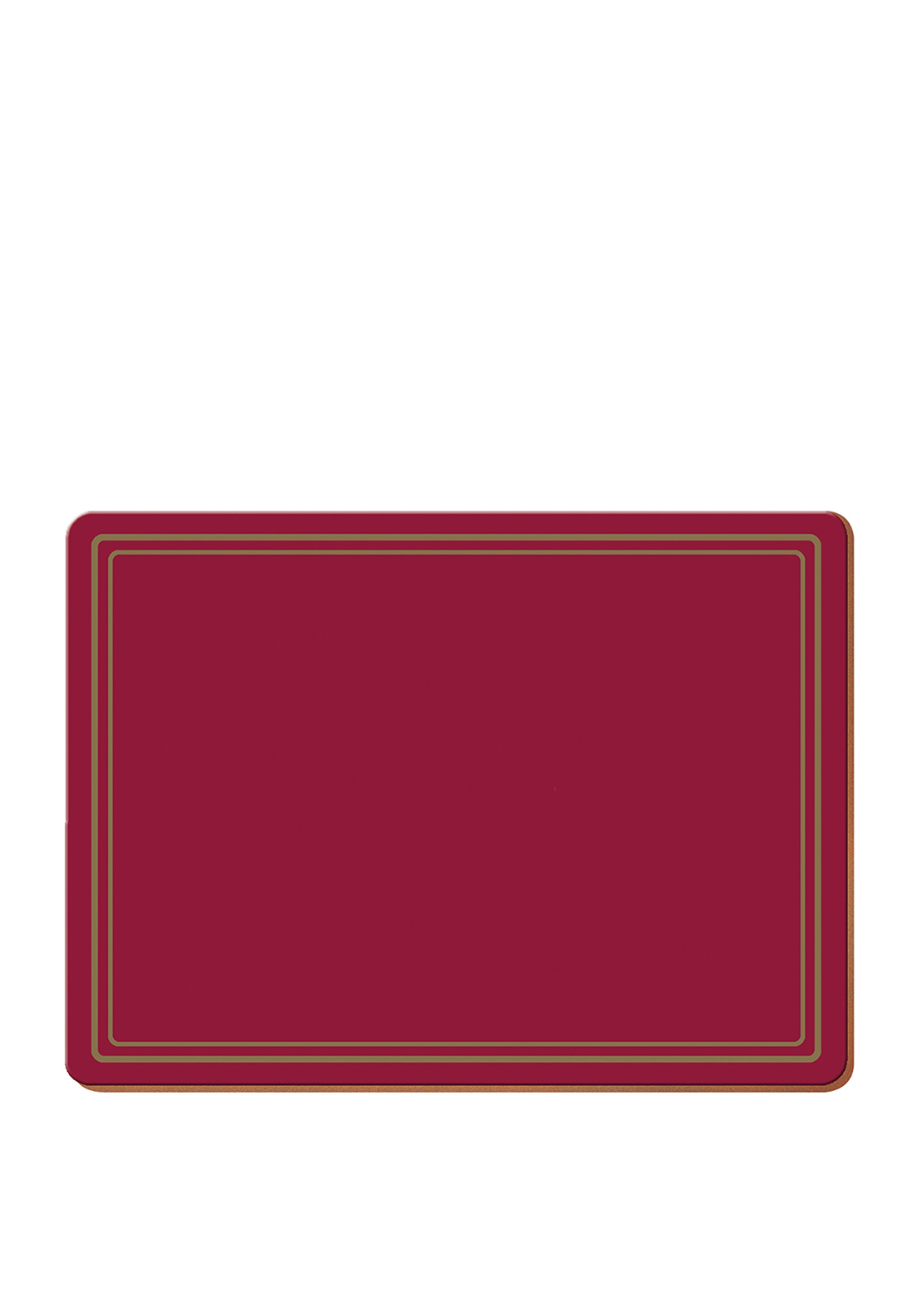 Creative Tops Classic Red Table Mats 6 Pack
