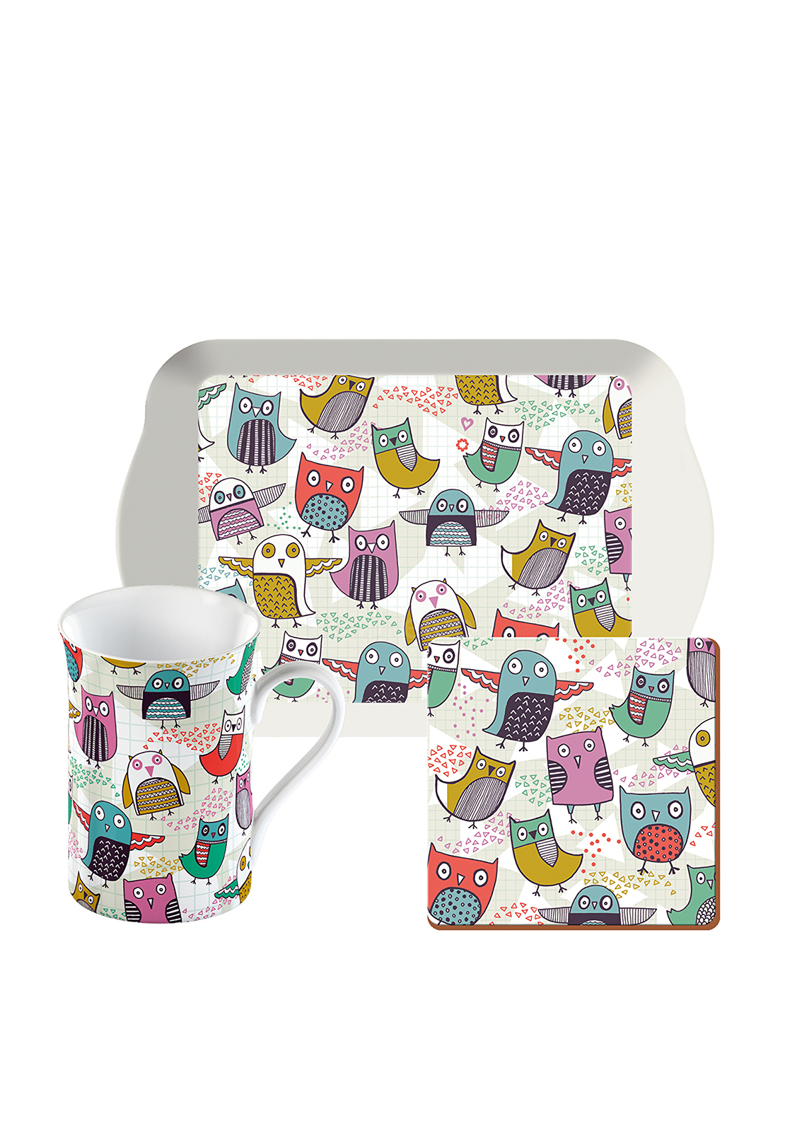 Creative Tops Time for Tea Gift Set Retro Owls