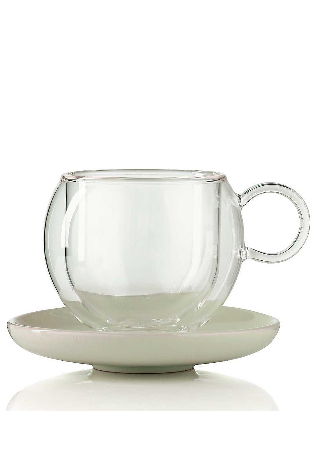 La Cafetiere Medium Bola Cup & Saucer