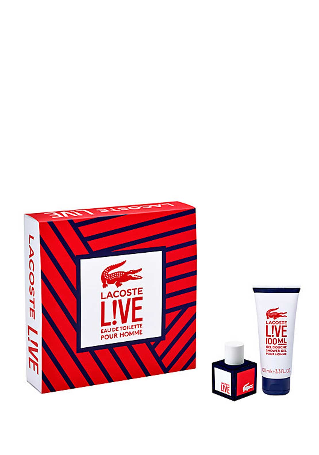 Lacoste Eau de Lacoste Noir for Him Gift Set, 100ml
