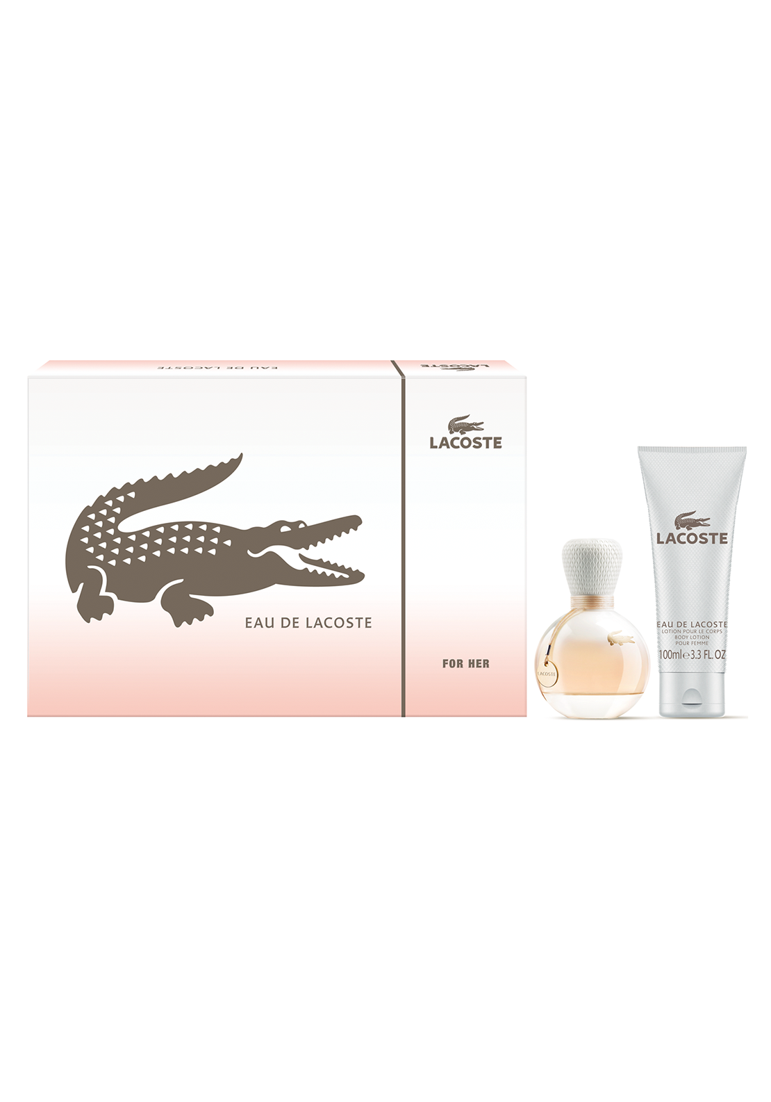 Lacoste Eau De Lacoste for Her Two Piece Gift Set