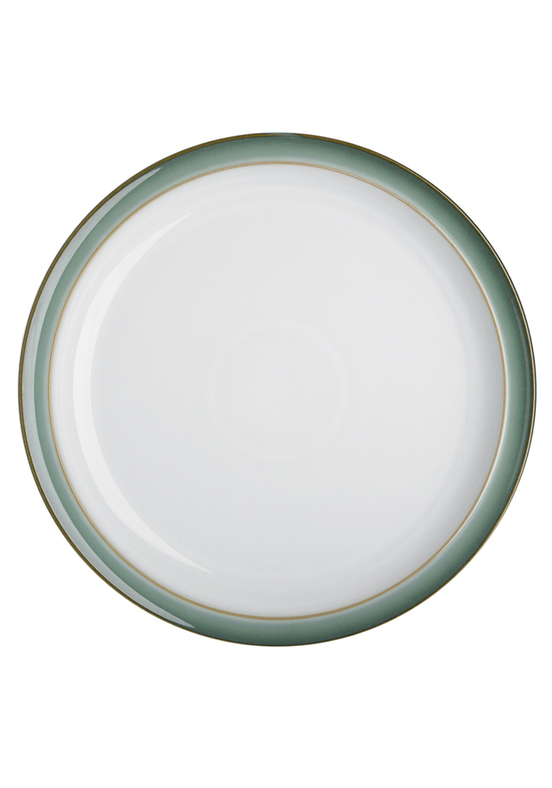 Denby Regency Green Dinner Plate, Green