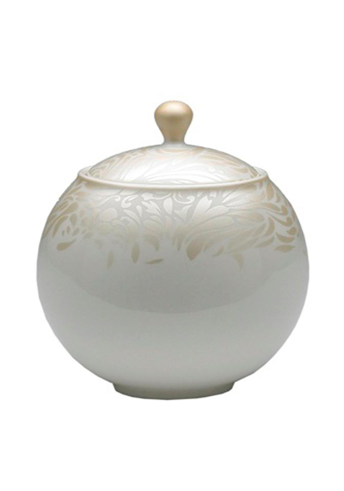 Denby Monsoon Lucille Gold Covered Sugar Bowl