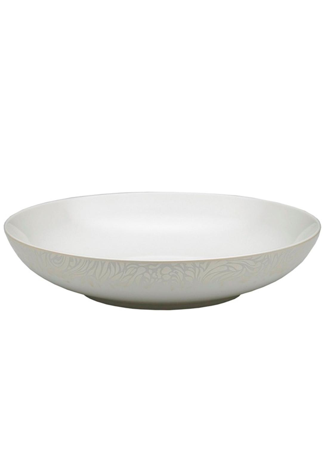 Denby Monsoon Lucille Gold Pasta Bowl