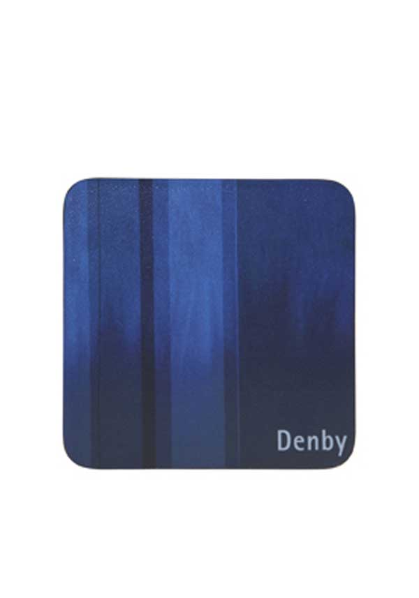 Denby Lifestlye Colours Set of Four Coasters, Blue