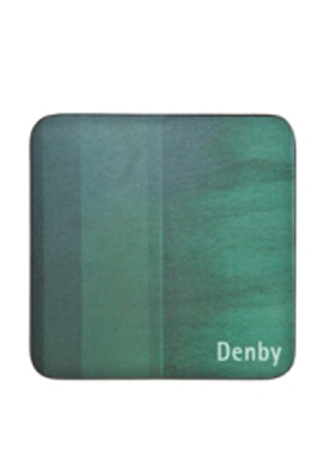 Denby Lifestyle Set of Four Coasters, Green