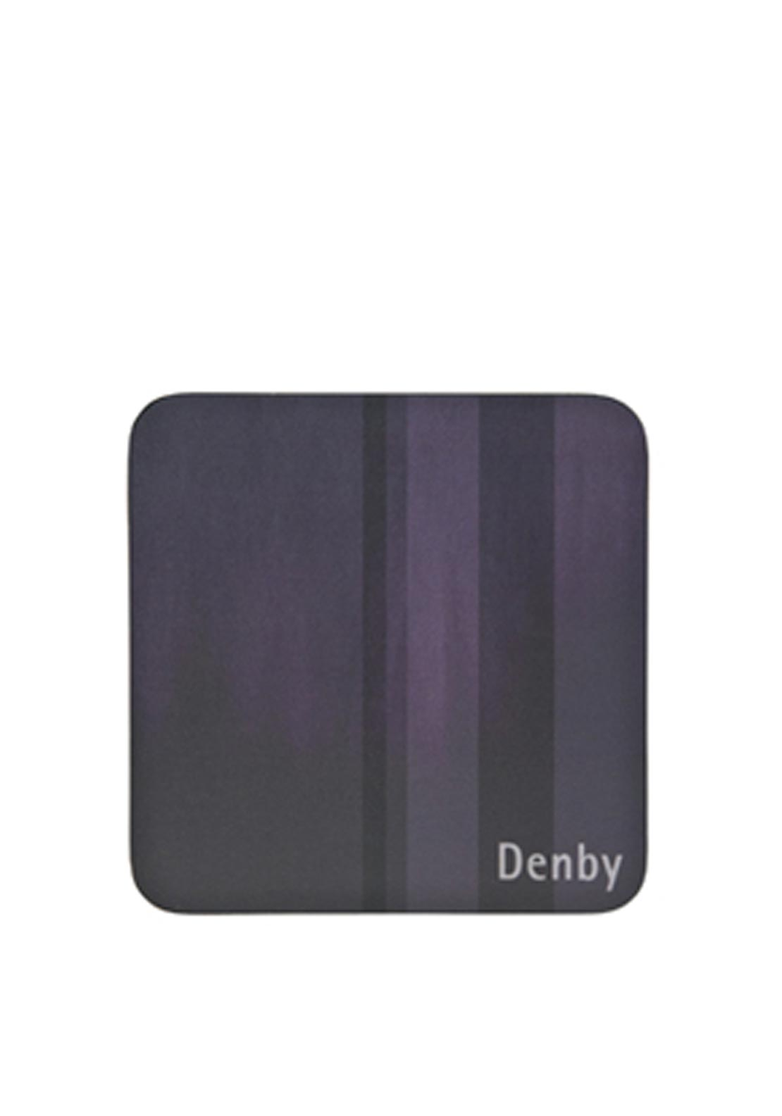 Denby Lifestyle Set of Four Coasters, Purple