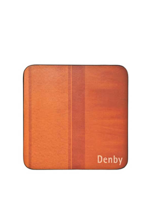 Denby Lifestlye Colours Set of Four Coasters, Orange